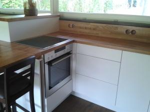 Küche Eiche und weiss