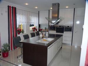 Küche Wenge und hochlanz